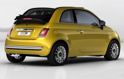 Fiat 500-oro