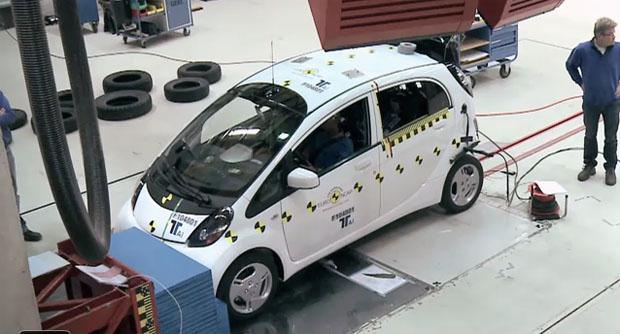 Los vehículos eléctricos también son analizados por el Euro Ncap